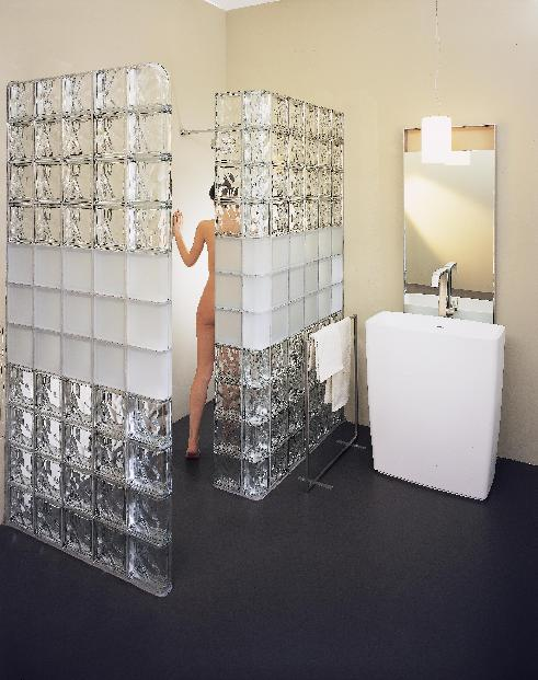 Glass Blocks For Bathroom Walls